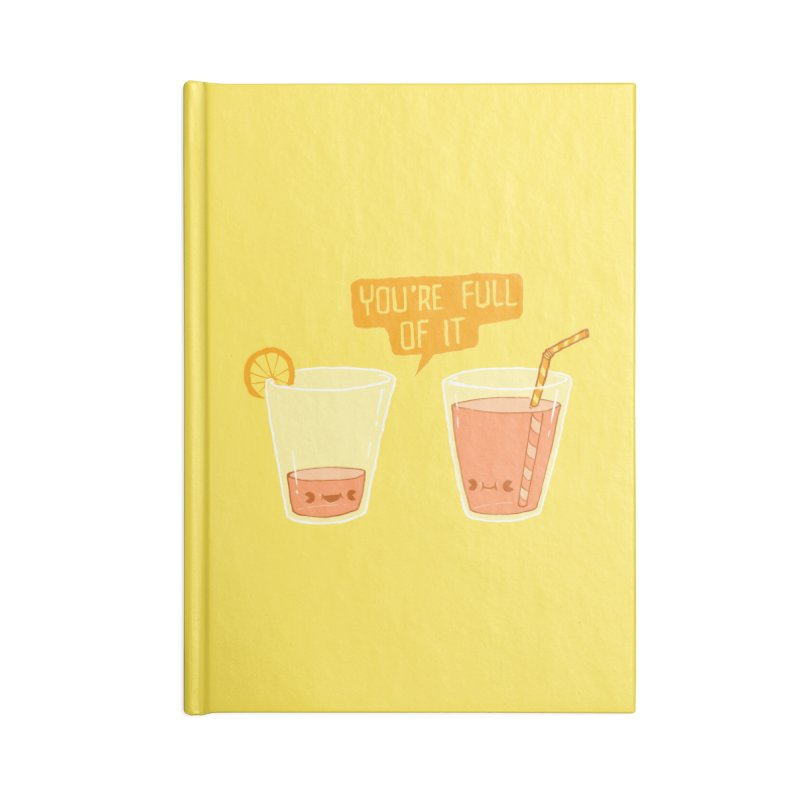 Full of It Accessories Notebook by Brian Cook