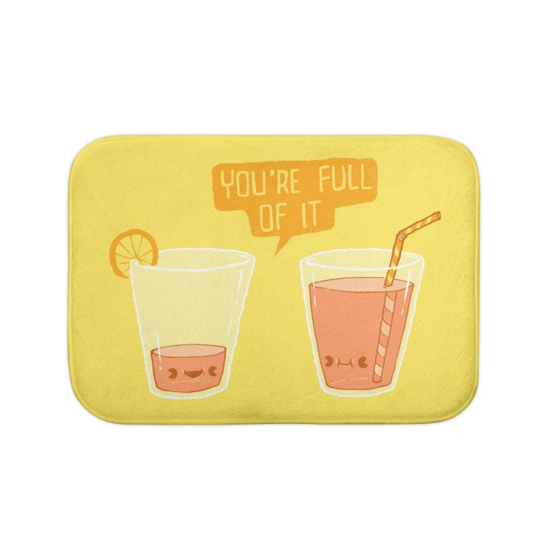 Full of It Home Bath Mat by Brian Cook