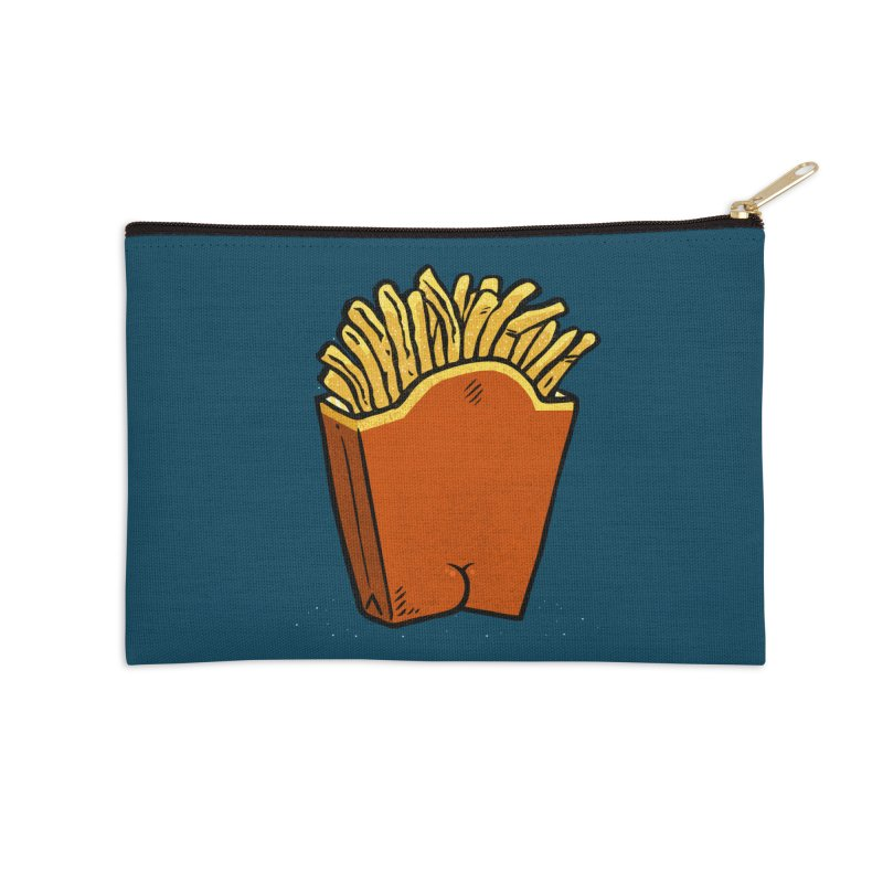Fries Butt Accessories Zip Pouch by Brian Cook