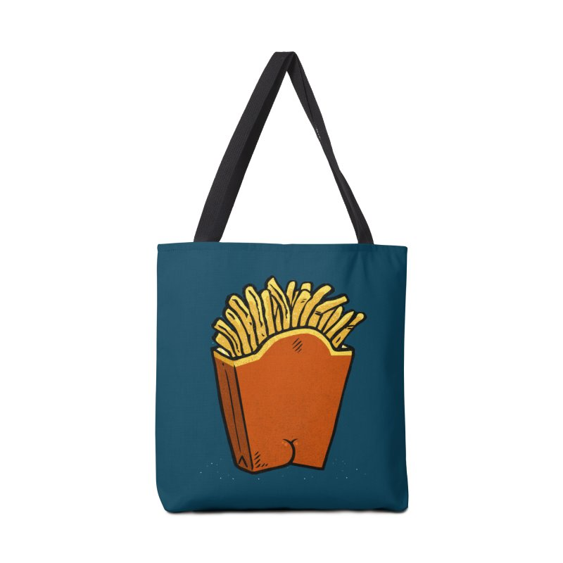 Fries Butt Accessories Bag by Brian Cook