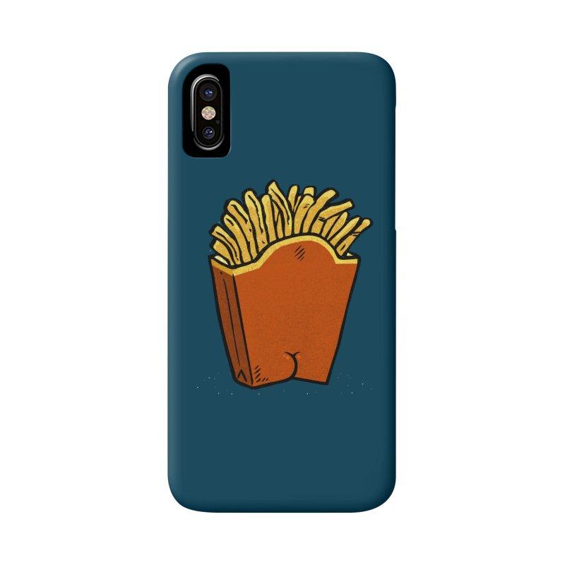 Fries Butt Accessories Phone Case by Brian Cook