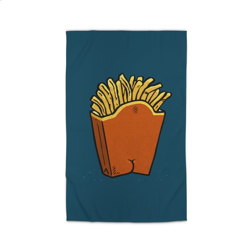 Fries Butt Home Rug by Brian Cook