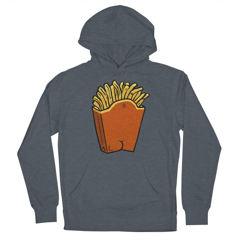 Fries Butt Women's Pullover Hoody by Brian Cook