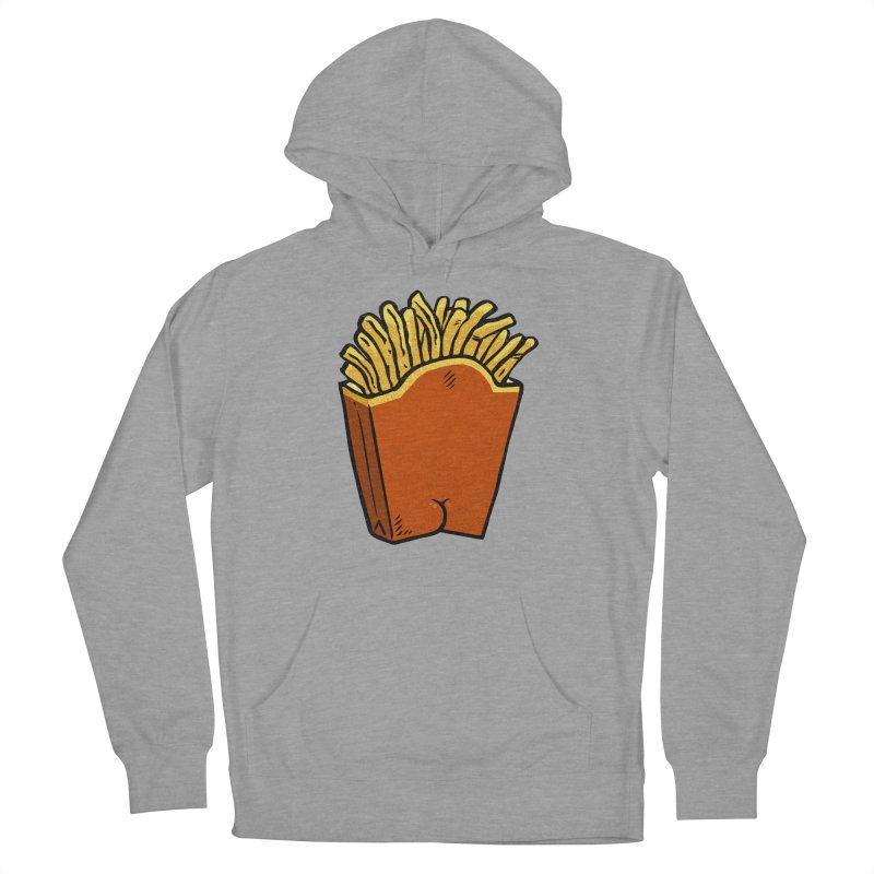 Fries Butt Men's Pullover Hoody by Brian Cook