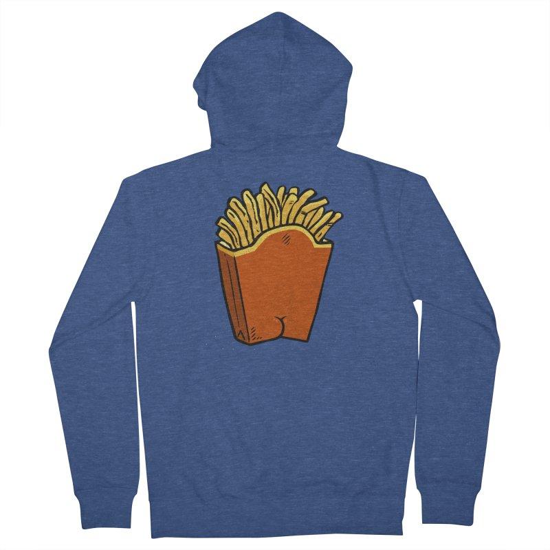 Fries Butt Women's Zip-Up Hoody by Brian Cook