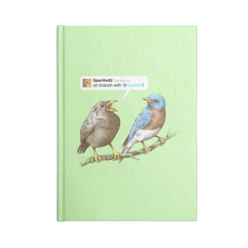 Tweet Accessories Notebook by Brian Cook