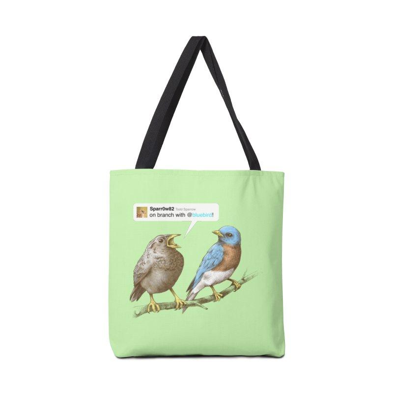 Tweet Accessories Bag by Brian Cook