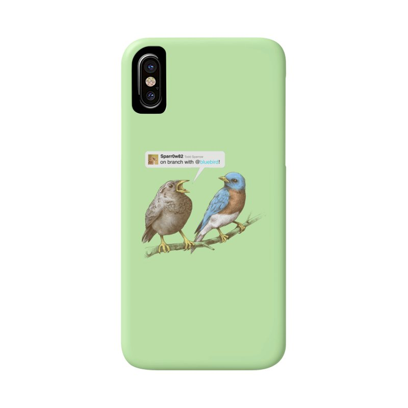 Tweet Accessories Phone Case by Brian Cook