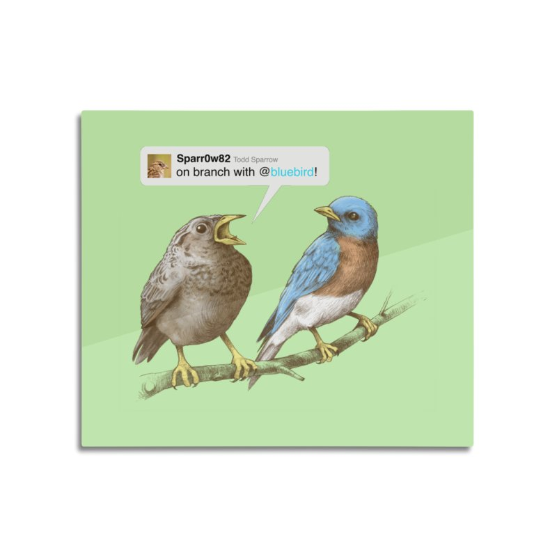 Tweet Home Mounted Acrylic Print by Brian Cook
