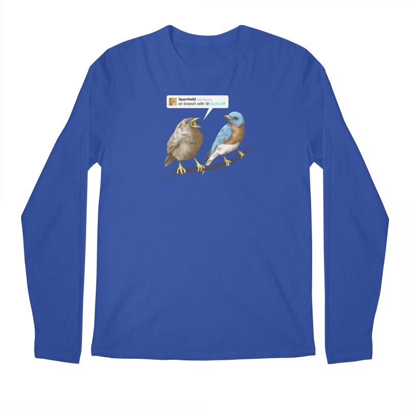 Tweet Men's Longsleeve T-Shirt by Brian Cook