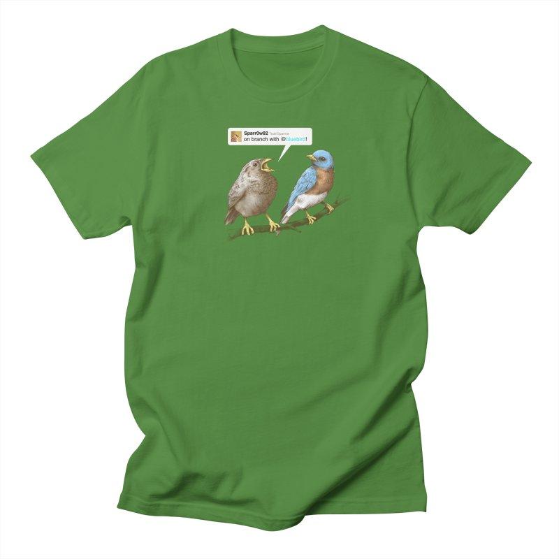 Tweet Men's T-Shirt by Brian Cook