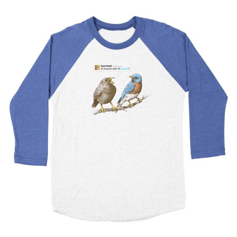 Tweet Women's Baseball Triblend T-Shirt by Brian Cook