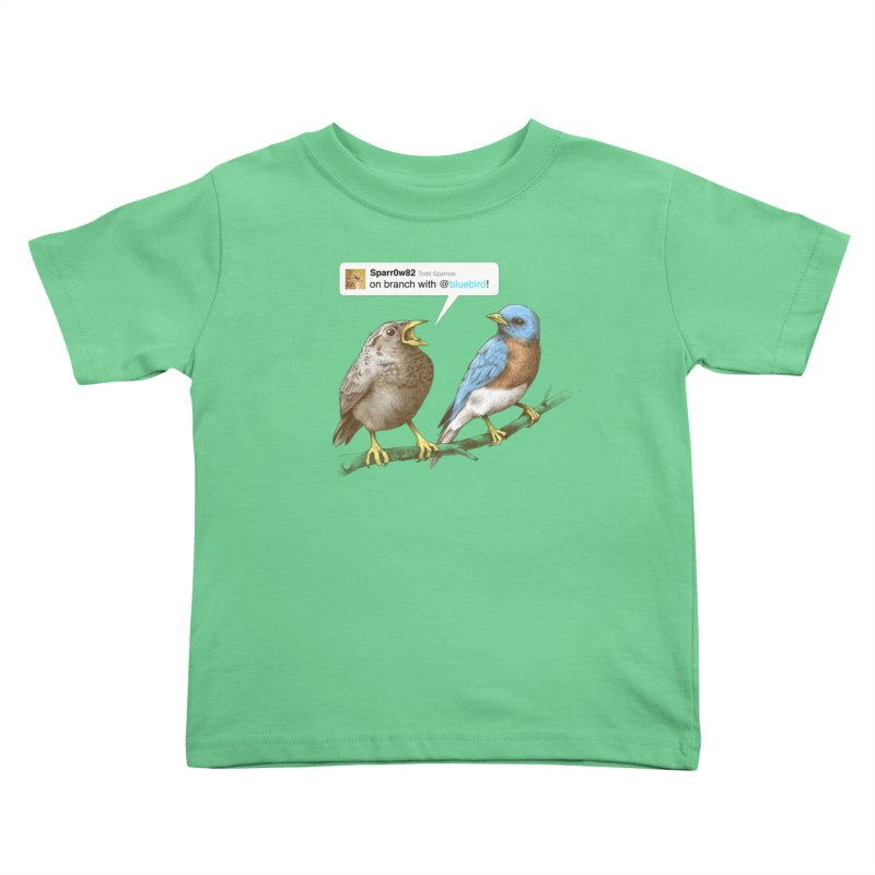 Tweet Kids Toddler T-Shirt by Brian Cook