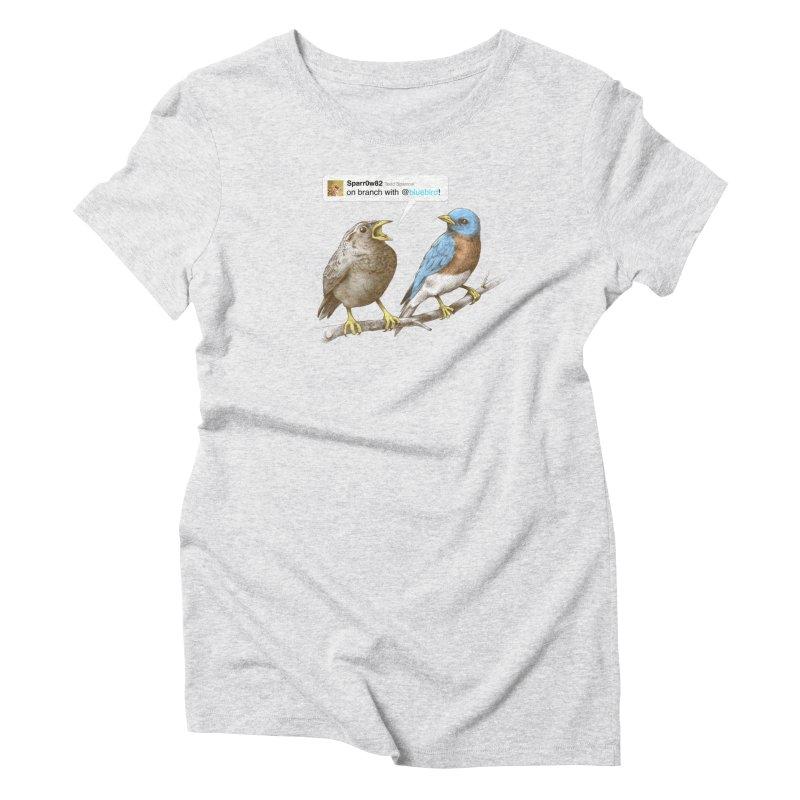 Tweet Women's Triblend T-Shirt by Brian Cook
