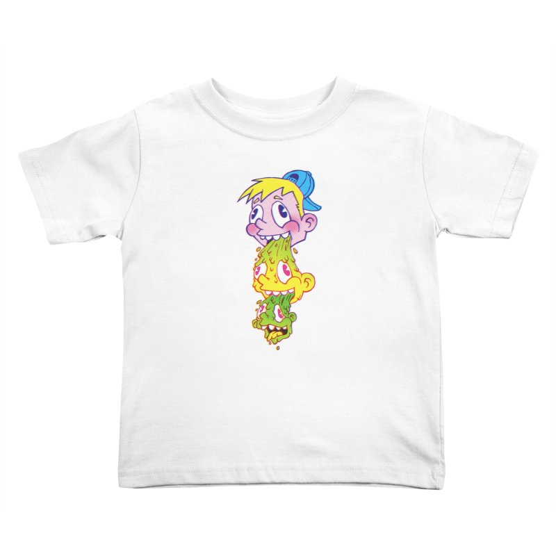 PukeFace Kids Toddler T-Shirt by Brian Cook