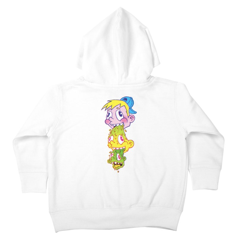 PukeFace Kids Toddler Zip-Up Hoody by Brian Cook