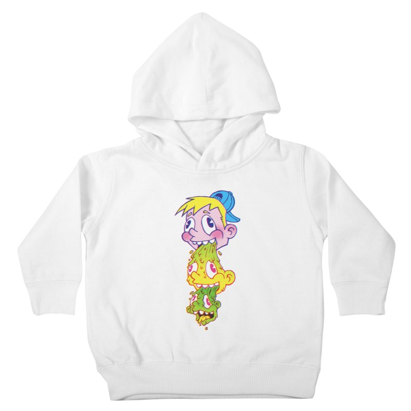 PukeFace Kids Toddler Pullover Hoody by Brian Cook
