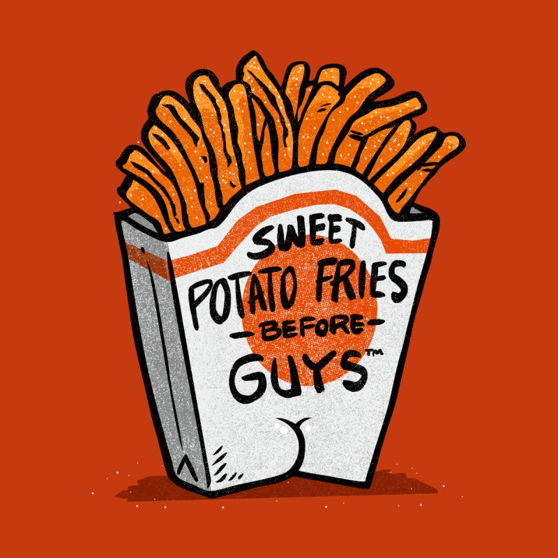 Sweet Potato Fries Before Guys by Brian Cook
