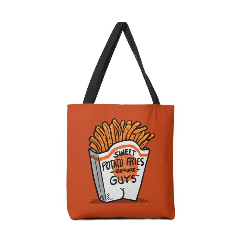 Sweet Potato Fries Before Guys Accessories Bag by Brian Cook