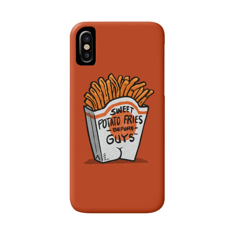 Sweet Potato Fries Before Guys Accessories Phone Case by Brian Cook