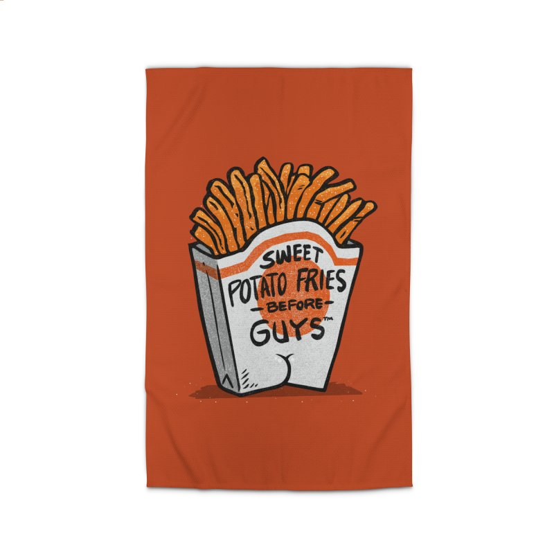Sweet Potato Fries Before Guys Home Rug by Brian Cook