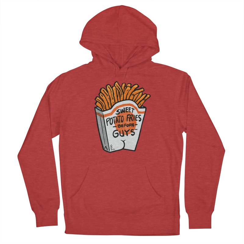 Sweet Potato Fries Before Guys Men's Pullover Hoody by Brian Cook