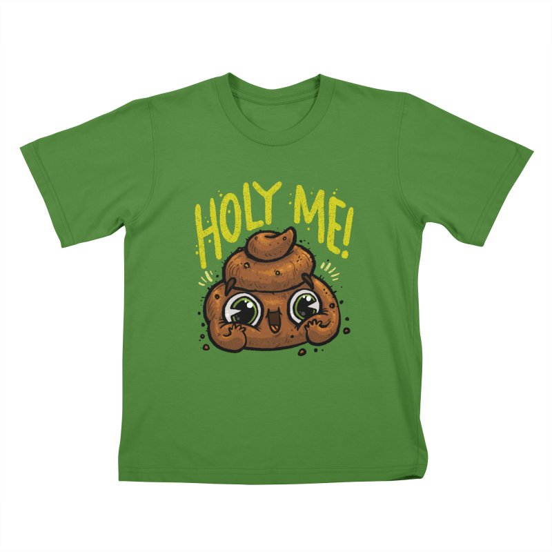 Holy Me! Kids T-Shirt by Brian Cook