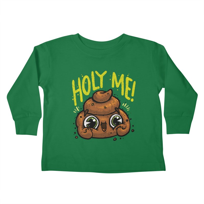 Holy Me! Kids Toddler Longsleeve T-Shirt by Brian Cook
