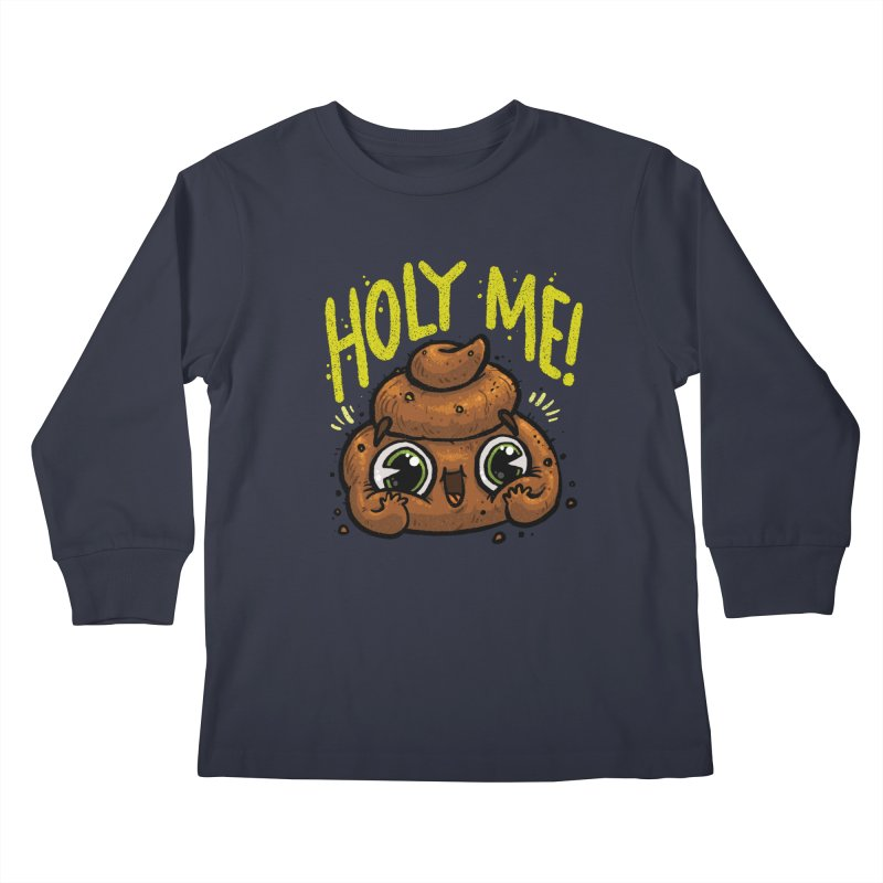 Holy Me! Kids Longsleeve T-Shirt by Brian Cook