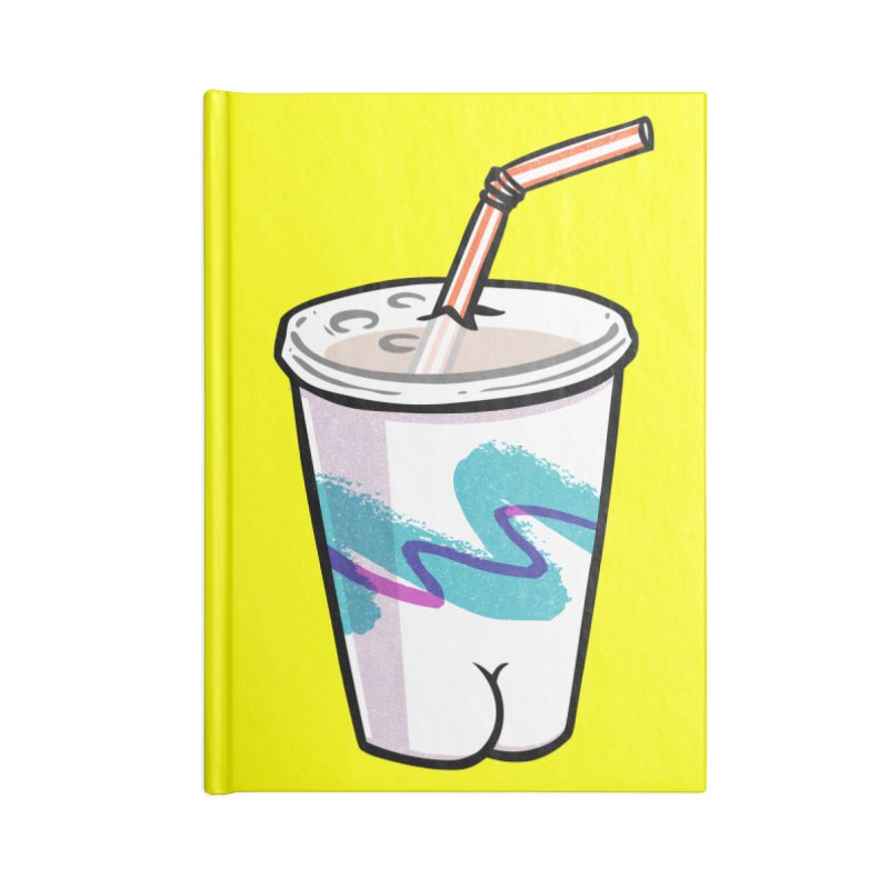 Soda Cup Butt Accessories Notebook by Brian Cook