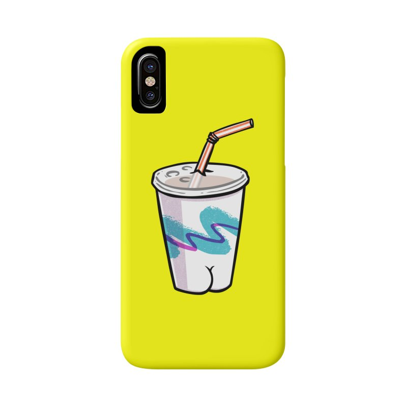 Soda Cup Butt Accessories Phone Case by Brian Cook