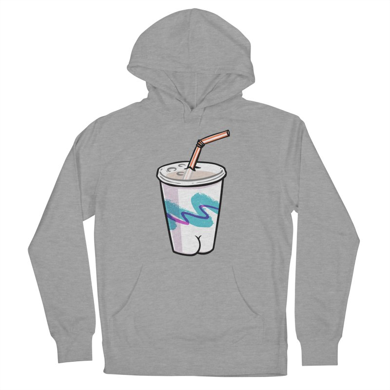 Soda Cup Butt Men's Pullover Hoody by Brian Cook