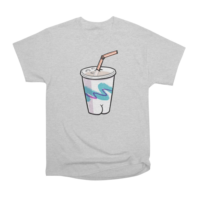 Soda Cup Butt Women's Classic Unisex T-Shirt by Brian Cook