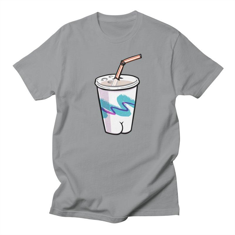 Soda Cup Butt Men's T-Shirt by Brian Cook