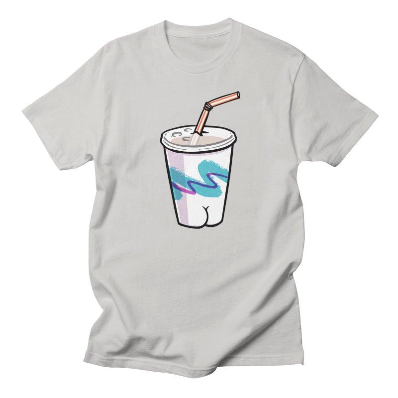 Soda Cup Butt Women's Unisex T-Shirt by Brian Cook
