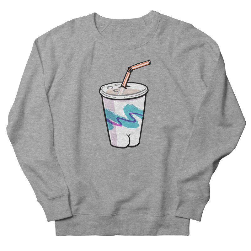Soda Cup Butt Men's Sweatshirt by Brian Cook