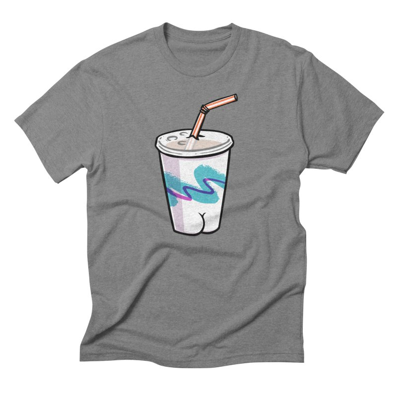 Soda Cup Butt Men's Triblend T-Shirt by Brian Cook