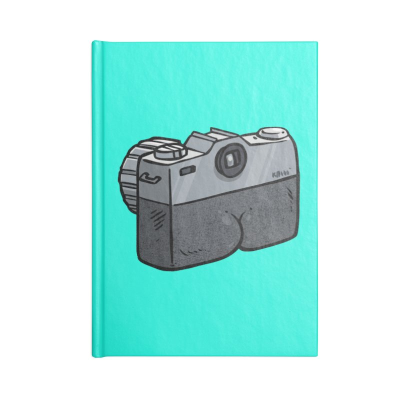 Camera Butt Accessories Notebook by Brian Cook