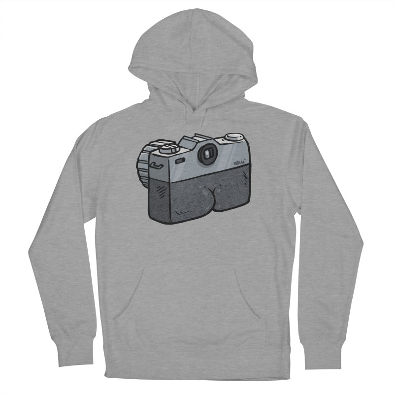 Camera Butt Men's Pullover Hoody by Brian Cook