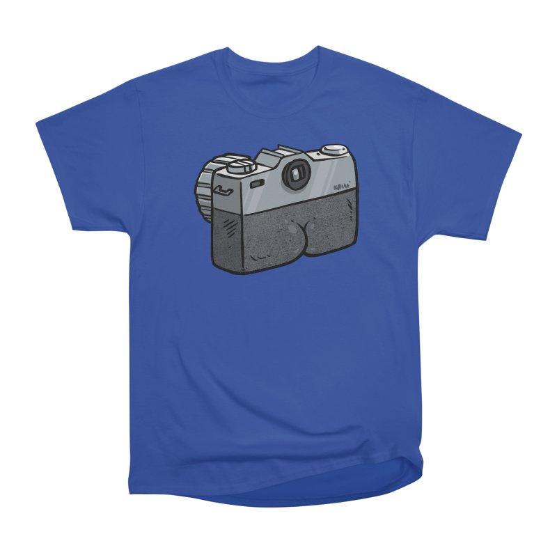 Camera Butt Women's Classic Unisex T-Shirt by Brian Cook