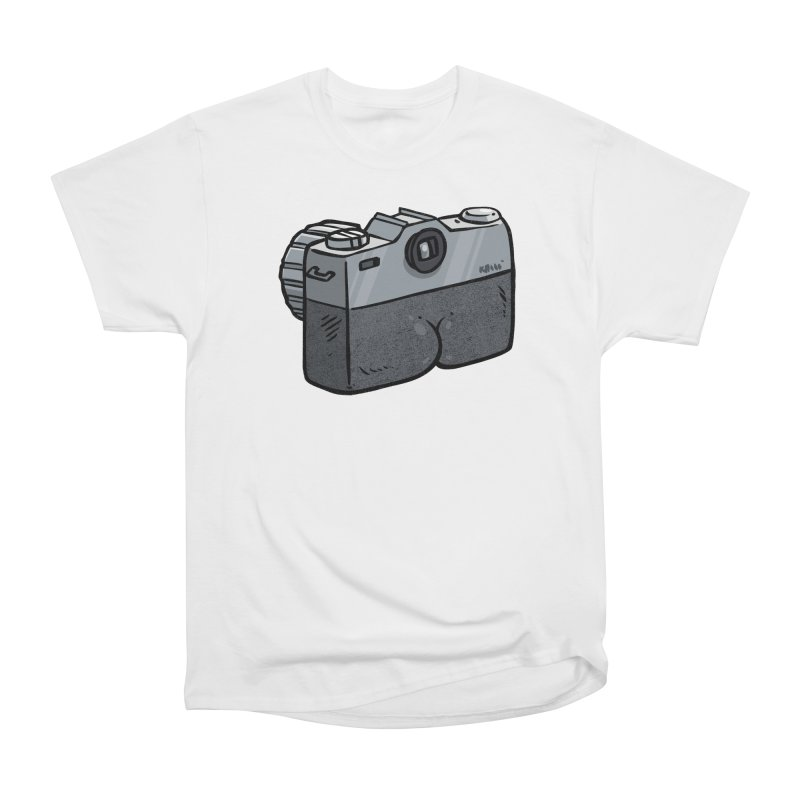 Camera Butt Men's Classic T-Shirt by Brian Cook