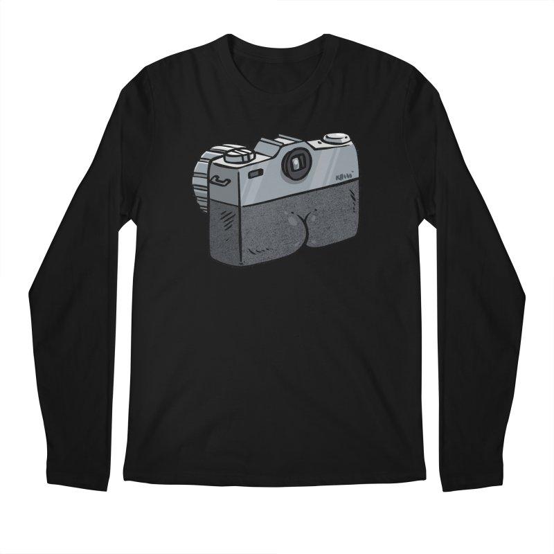 Camera Butt Men's Longsleeve T-Shirt by Brian Cook