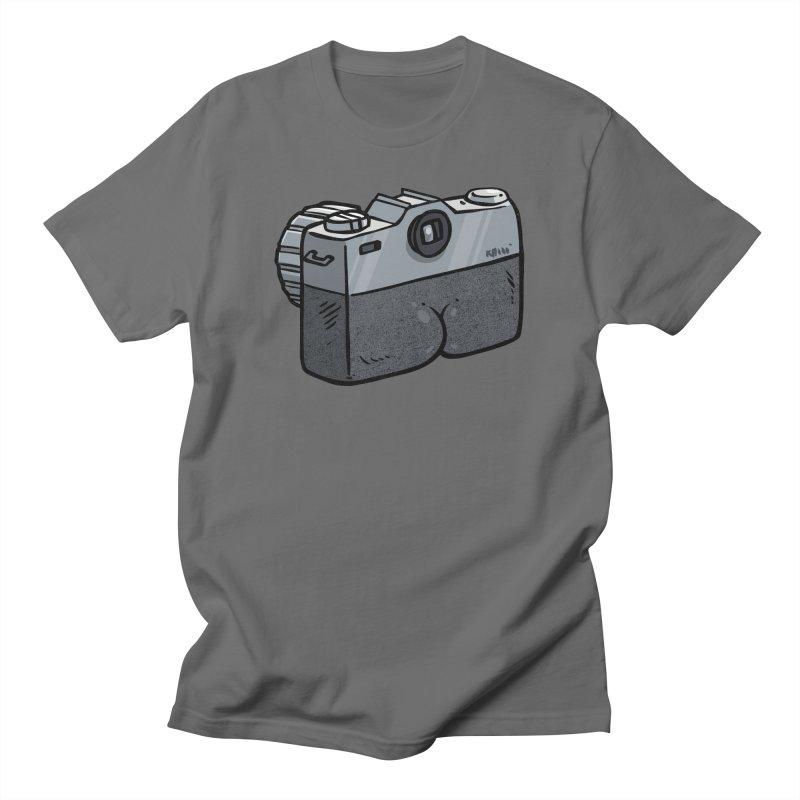 Camera Butt Men's T-Shirt by Brian Cook
