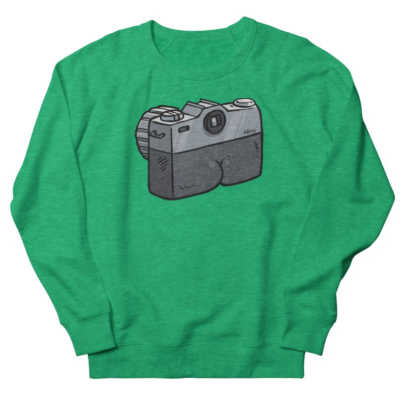 Camera Butt Men's Sweatshirt by Brian Cook