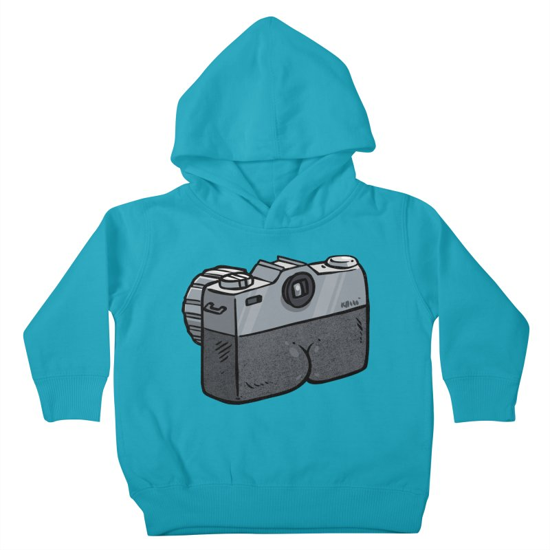 Camera Butt Kids Toddler Pullover Hoody by Brian Cook