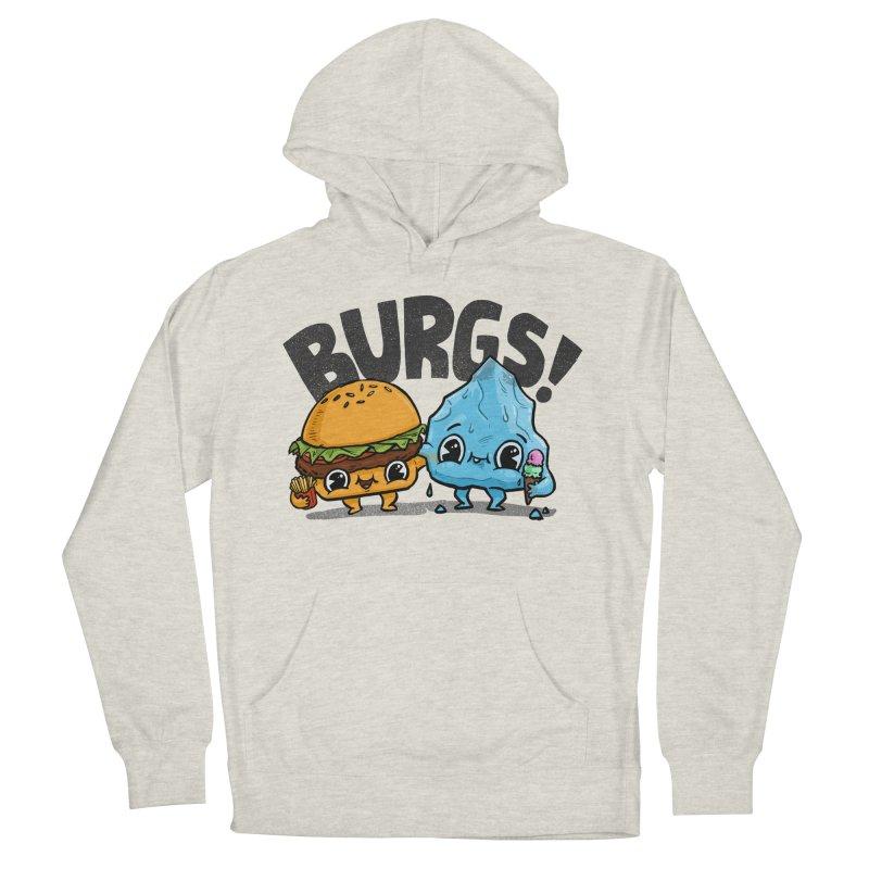 Burgs Bros! Men's Pullover Hoody by Brian Cook