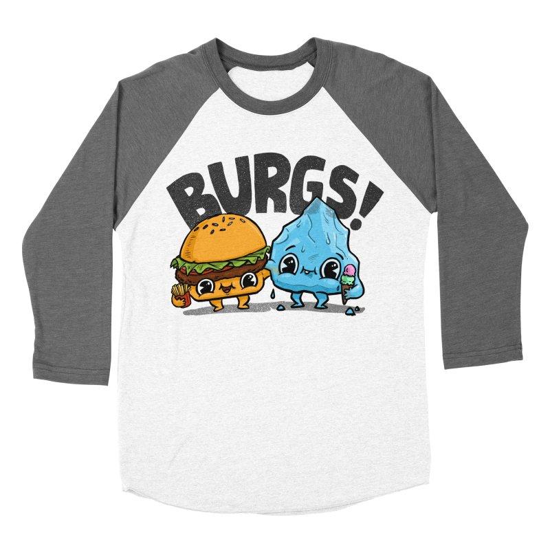 Burgs Bros! Women's Baseball Triblend T-Shirt by Brian Cook