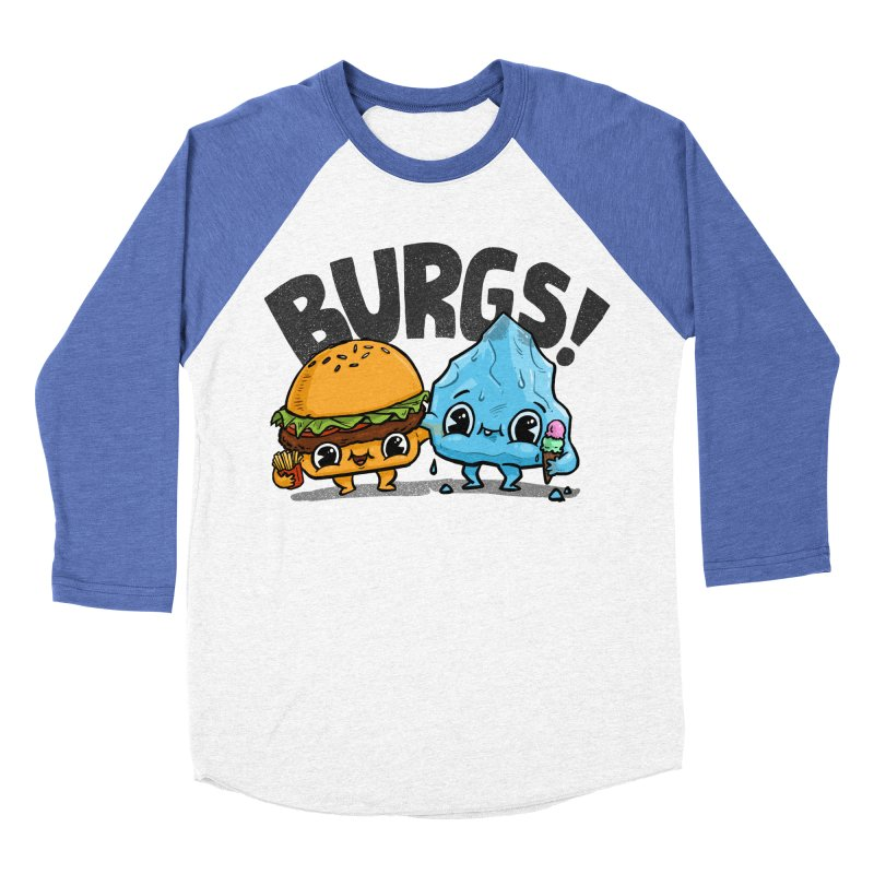 Burgs Bros! Men's Baseball Triblend T-Shirt by Brian Cook