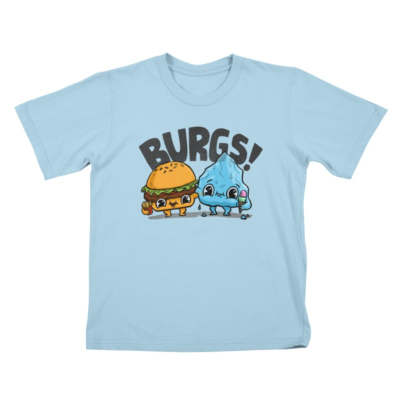 Burgs Bros! Kids T-Shirt by Brian Cook