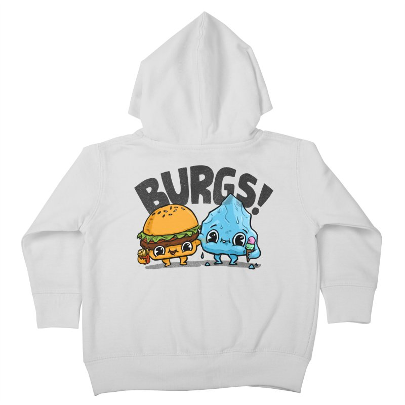Burgs Bros! Kids Toddler Zip-Up Hoody by Brian Cook